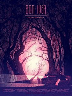 6160783355_3a8223d7a9_b.jpg (JPEG Image, 648x864 pixels) #bon #iver #concert #poster