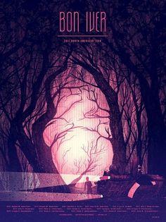 Bon Iver Poster