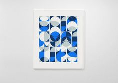 Circulitos #abstract #geometry #print #circle #overprint #overlay