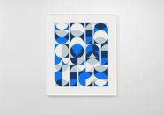 Circulitos #abstract #geometry #print #circle #overprint #overlay