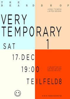 verytemporary 2 poster by i like birds #poster