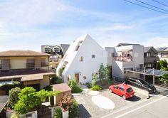 White Mountain House in Japan #architecture #design #interior