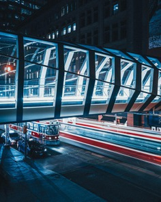 Moody and Cinematic Toronto Cityscapes by Ivan Krivonosov