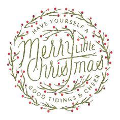 Happy Holidays - Matt Chase | Design, Illustration #typography