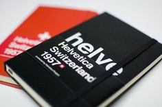 WANKEN - The Blog of Shelby White » Helvetica Moleskin #moleskin #notebook #helvetica
