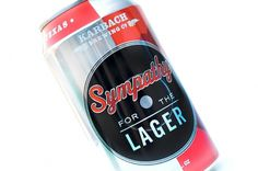 Karbach Brewing Company Sympathy for the Lager Schwieterman Design #packaging #beer #sympathy