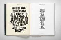 Fabio Ongarato Design | No Name Station #print #publication #typography