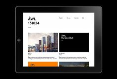Ã…WL Arkitekter by Henrik Nygren #web design #website