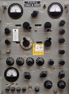 tumblr_m25430vYcJ1qznebso1_1280.jpg (738×1000) #dials #knobs #analog #interface