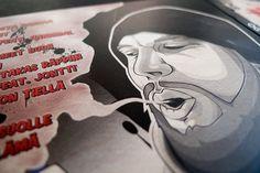 OG Ikonen / Mieron tiellä | Aleksi Ahjopalo #print #design #graphic #illustration