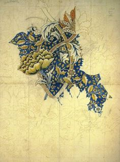 NNW #morris #pattern #william #movement #crafts #arts #illustration #textile #and