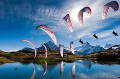 Spectacular Sequential Photography sequence sports photography from the Red Bull Illume Contest #photo