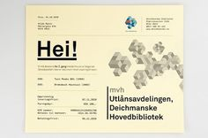 –Deichmanske : Mikael Fløysand #norway #geometry #print #deichmanske #oslo #identity #library #logo
