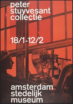 Peter Stuyvesant Collectie poster - Wim Crouwel (1962) #60s #design #grid #crouwel #poster #wim #dutch
