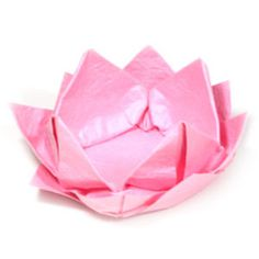 How to make a new origami lotus flower (http://www.origami-flower.org/howto-origami-lotus.php)