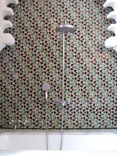 Hotel Nord Pinus Tanger #hotel #morocco #bathroom #tile