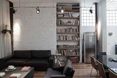 Future Home #interior #brick #sofa #design #decor #wall #deco #decoration