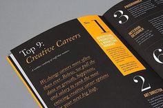 Editorial Design Inspiration: 99U Quarterly Mag No.4 #print #design #spread #grid #editorial #magazine