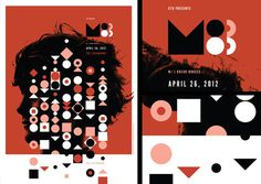 Invisible Creature #gig #geometric #poster #m83 #invisible #creature