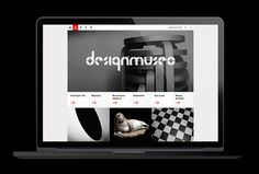 Design Museum by Bond #website design #web #black