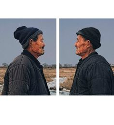 Identical Twins by Gao Rongguo #inspiration #photography #portrait