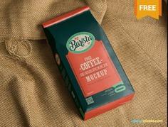 Essential Coffee Packaging Mockup