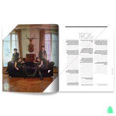 Pablo Abad - Lados Magazine #photo #print #magazine #typography