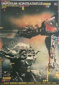 Ritkán látható, egyedi megvalósítású Star Wars moziplakátok Európából | Chelloveck #poster #star wars #european
