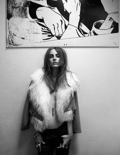 Likes | Tumblr #black #white #fur