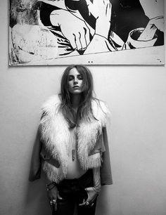 Likes | Tumblr #black #white #fur