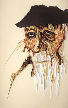 Stunning Quilling Paper Art Work by Yulia Brodskaya #quilling #paparArt #paper