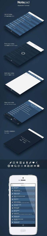 Notepad App by Damian Tokarczyk