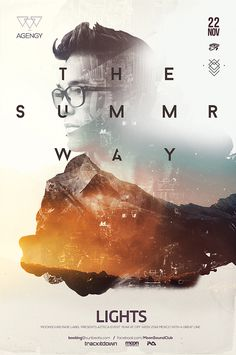Summer Way Poster