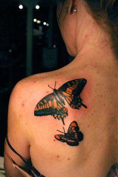 Butterfly Tattoo Designs #butterfly #tattoo #designs