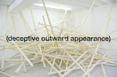 iGNANT #installation #perspective #wood #helvetica #typography