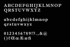 Sumatra by Chi-Long Trieu and Mirko Borsche #serif #sumatra #typface #typography