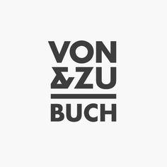 VON & ZU BUCH Book Shop #Logo by Philipp Zurmöhle – www.philippzm.com