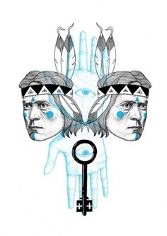 Indians #illustration #abo #orka #indians