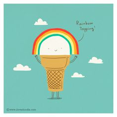 All sizes | I got rainbow topping | Flickr - Photo Sharing! #use