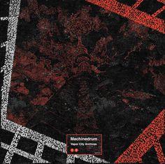 machinedrum vapor city #cover #album