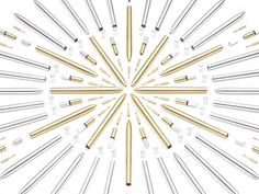 MAKE YOUR MARK : The Pen With A Twist by AJOTO — Kickstarter #graphic #pen #silver #display #product #beautiful #gold #amazing #parts #man