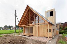 A Gabled Roof in Kawagoe