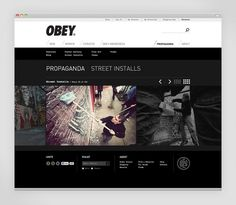 Obey Clothing - Work - Instrument