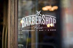 Barbershop | Tyrsa #typography #logo #branding #identity #food #restaurant