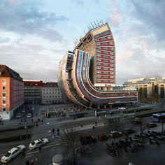 Warped #architecture
