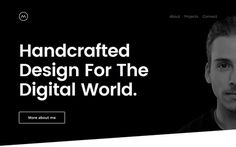 Minimalny Inspiration N° 12 #webdesign #minimaldesign #portfolio