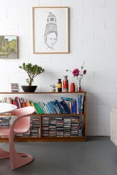 Design*Sponge » Blog Archive » sneak peek: kirra jamison + dane lovett #interior #design #shelve #book #home #decoration
