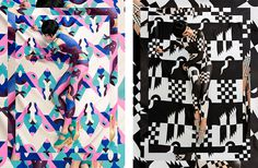 Body Painting and Scandinavian Spring by Janine Rewell — Agent Pekka #photography #pattern #painting #body