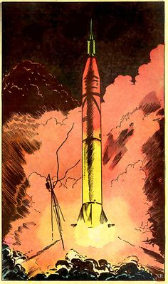 ... Redstone launch | Flickr Photo Sharing! #illustration #rocket