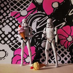 Ice Cream Troopers #paris #toys #tumblr #photographie #troopers #cream #picture #color #ment #wars #re #audreyevrard #polacolor #star #ice #fun #story